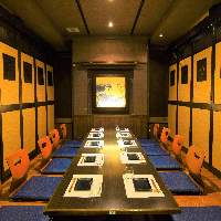 【岡山×個室】個室完備◎宴会は最大80名様程度までOK!